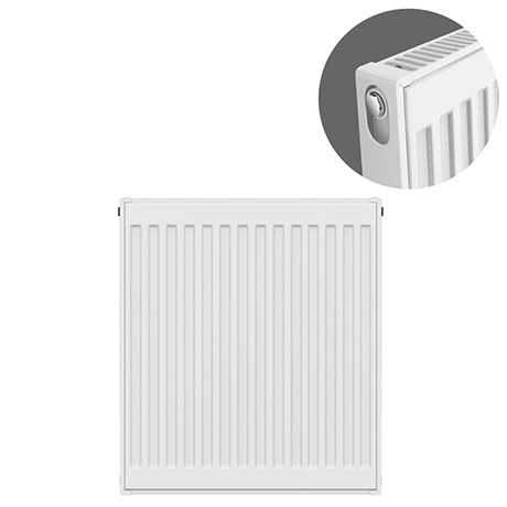 Type 11 H750 x W500mm Compact Single Convector Radiator - S705K