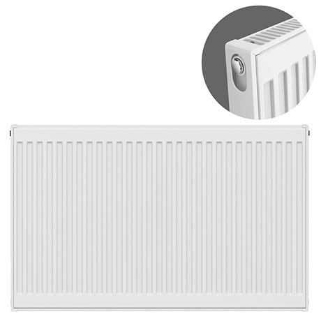 Type 11 H750 x W1000mm Compact Single Convector Radiator - S710K