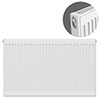 Type 11 H750 x W1000mm Compact Single Convector Radiator - S710K profile small image view 1