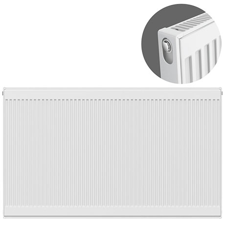 Type 11 H750 x W1800mm Compact Single Convector Radiator - S718K