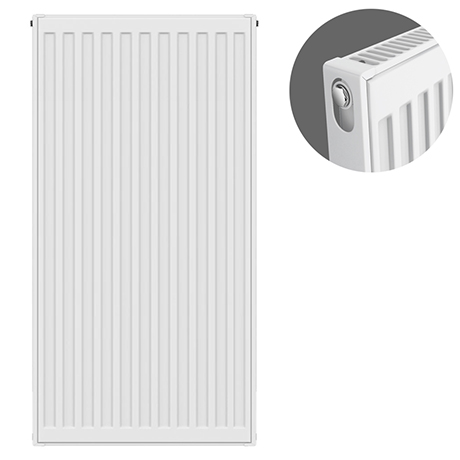 Type 11 H900 x W400mm Compact Single Convector Radiator - S904K