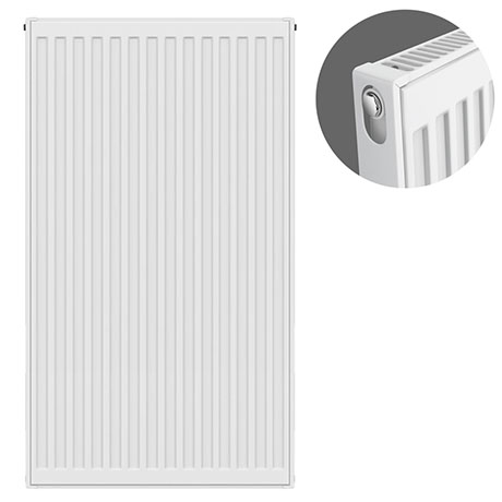 Type 11 H900 x W500mm Compact Single Convector Radiator - S905K