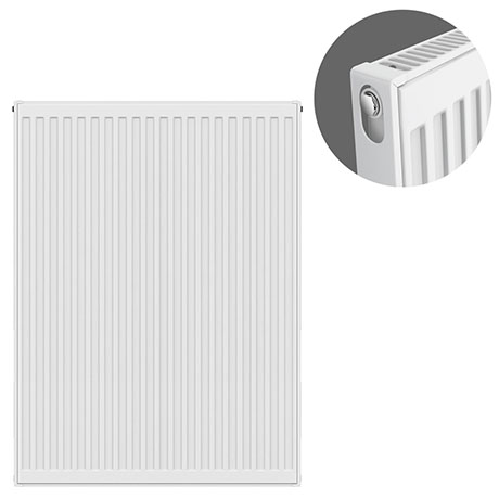 Type 11 Compact Single Convector Radiator - H900 x W700mm - S907K
