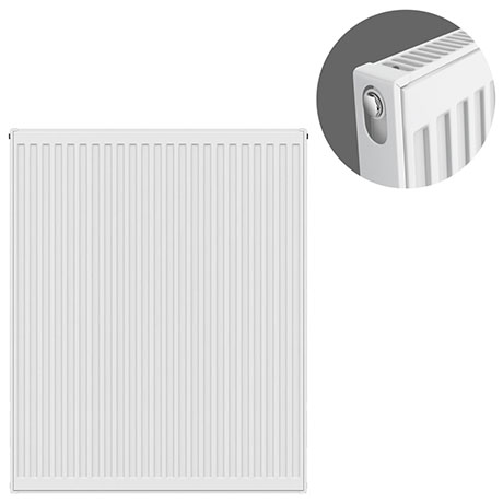 Type 11 H900 x W800mm Compact Single Convector Radiator - S908K