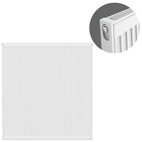 Type 11 H900 x W900mm Compact Single Convector Radiator - S909K