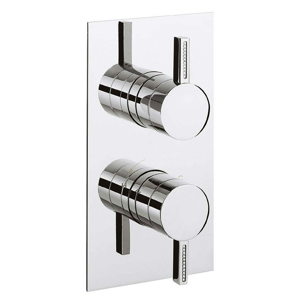 Crosswater Sparkle Thermostatic Shower Valve - SA1000RC Large Image