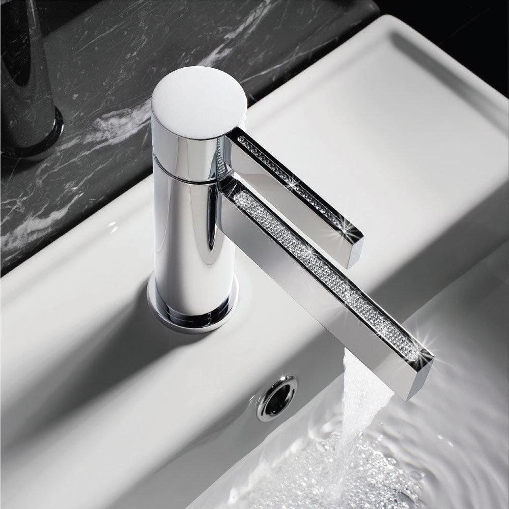 Crosswater - Sparkle Monobloc Basin Mixer - SA110DNC Profile Large Image