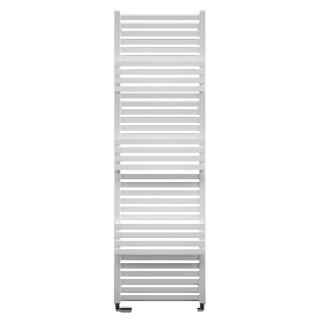 Bauhaus Seattle Towel Rail - 500 x 1635mm - Soft White Matte