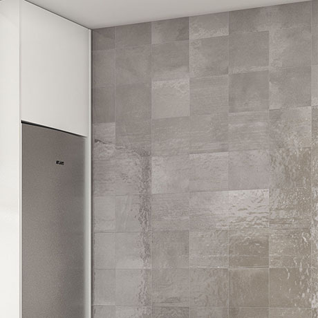 Safina Grey Wall and Floor Tiles - 147 x 147mm
