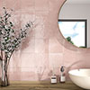 Safina Dusky Pink Wall and Floor Tiles - 147 x 147mm Small Image