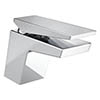 Bristan - Sail Contemporary Basin Mixer w/ Clicker Waste - Chrome - SAI-BAS-C Small Image