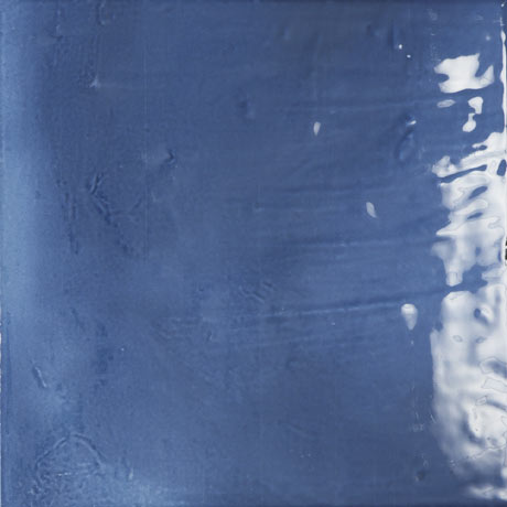 Sail Dark Blue Glazed Wall and Floor Tiles - 223 x 223mm