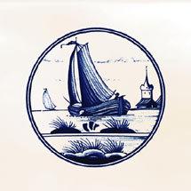 Sail Decor Glazed Wall and Floor Tiles - 223 x 223mm Medium Image