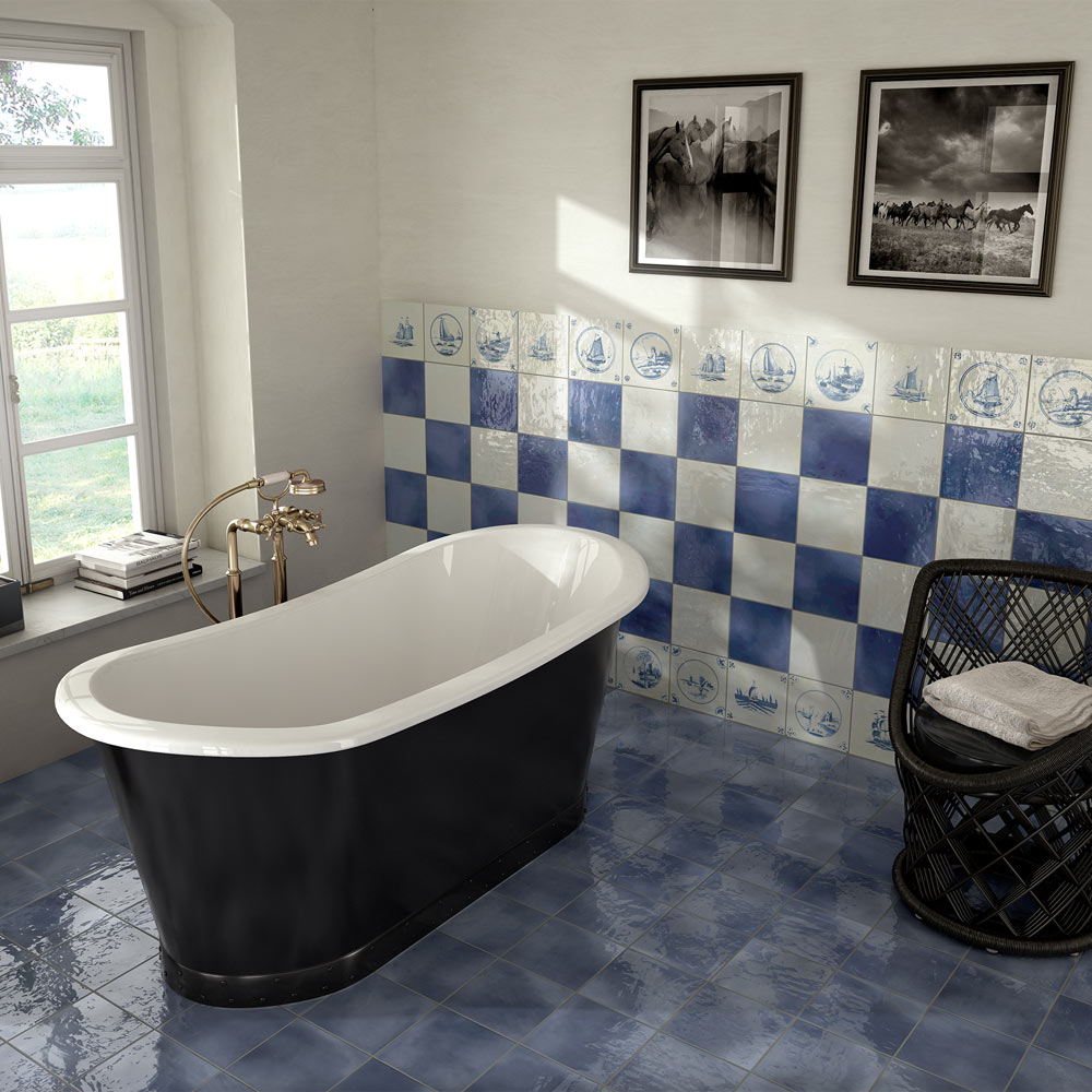 Sail Decor Glazed Wall and Floor Tiles - 223 x 223mm  Profile Large Image