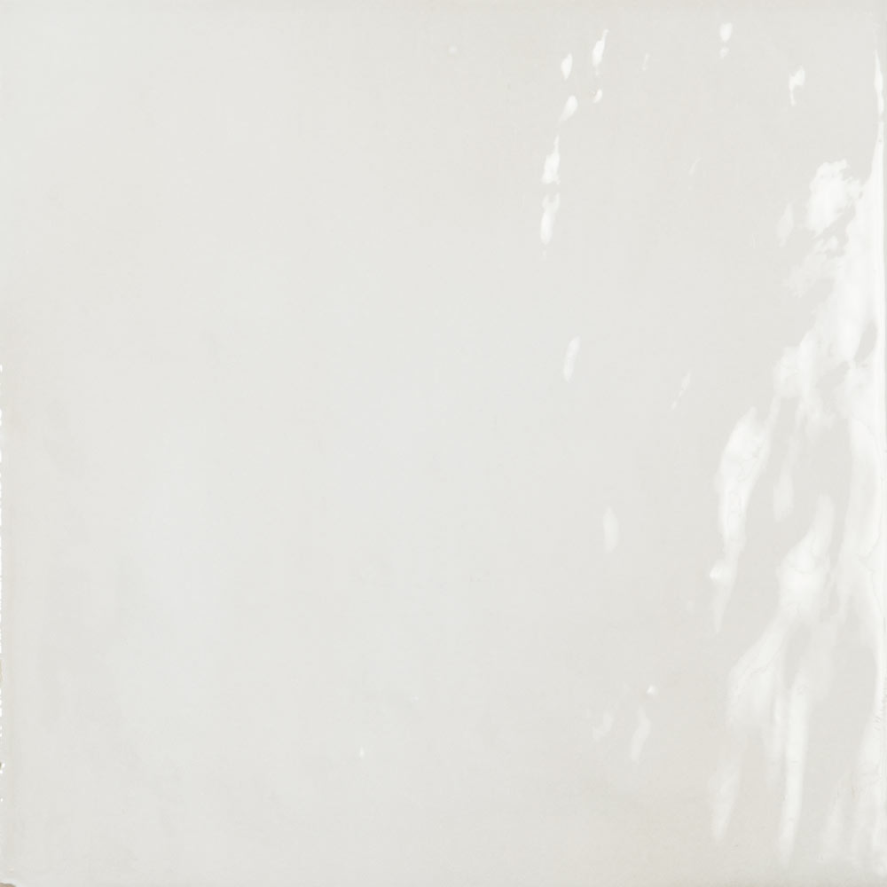 Sail White Glazed Wall and Floor Tiles - 223 x 223mm Large Image