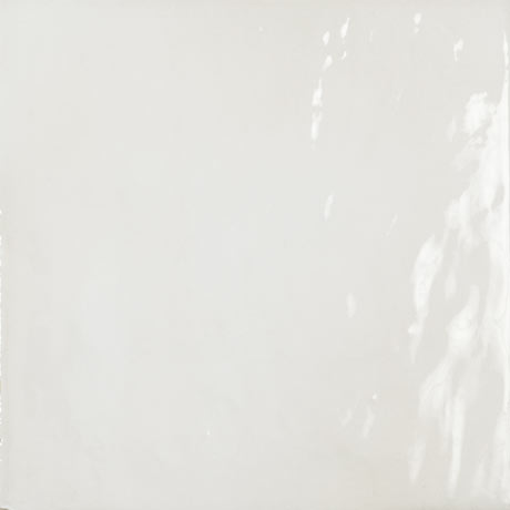 Sail White Glazed Wall and Floor Tiles - 223 x 223mm
