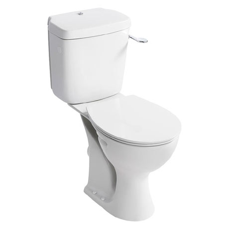 Armitage Shanks Sandringham 21 Raised Height WC + Soft Close Seat