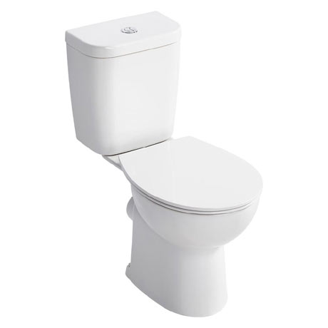 Armitage Shanks Sandringham 21 Smooth Close Coupled WC + Soft Close Seat