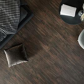 Sarenna Brown Wood Effect Floor Tiles - 150 x 900mm