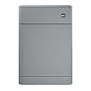 Hudson Reed Sarenna 550mm WC Unit - Dove Grey profile small image view 1