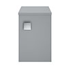 Hudson Reed Sarenna 300mm Wall Hung Side Unit - Dove Grey profile small image view 1