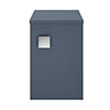 Hudson Reed Sarenna 300mm Wall Hung Side Unit - Mineral Blue profile small image view 1