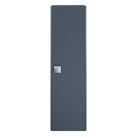 Hudson Reed Sarenna 350mm Wall Hung Tall Unit - Mineral Blue