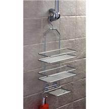 Satina - Hanging Shower Shelf Unit - 58390 Medium Image