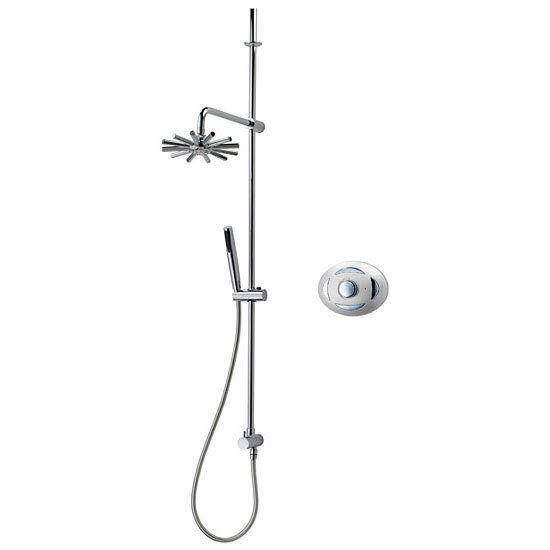 Triton Satellites Digital Mixer Shower with Mellena Kit profile large image view 1