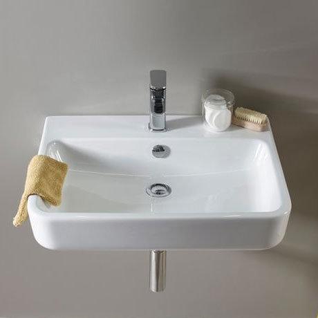 Tavistock Agenda 600mm Ceramic Basin & Bottle Trap Feature Large Image