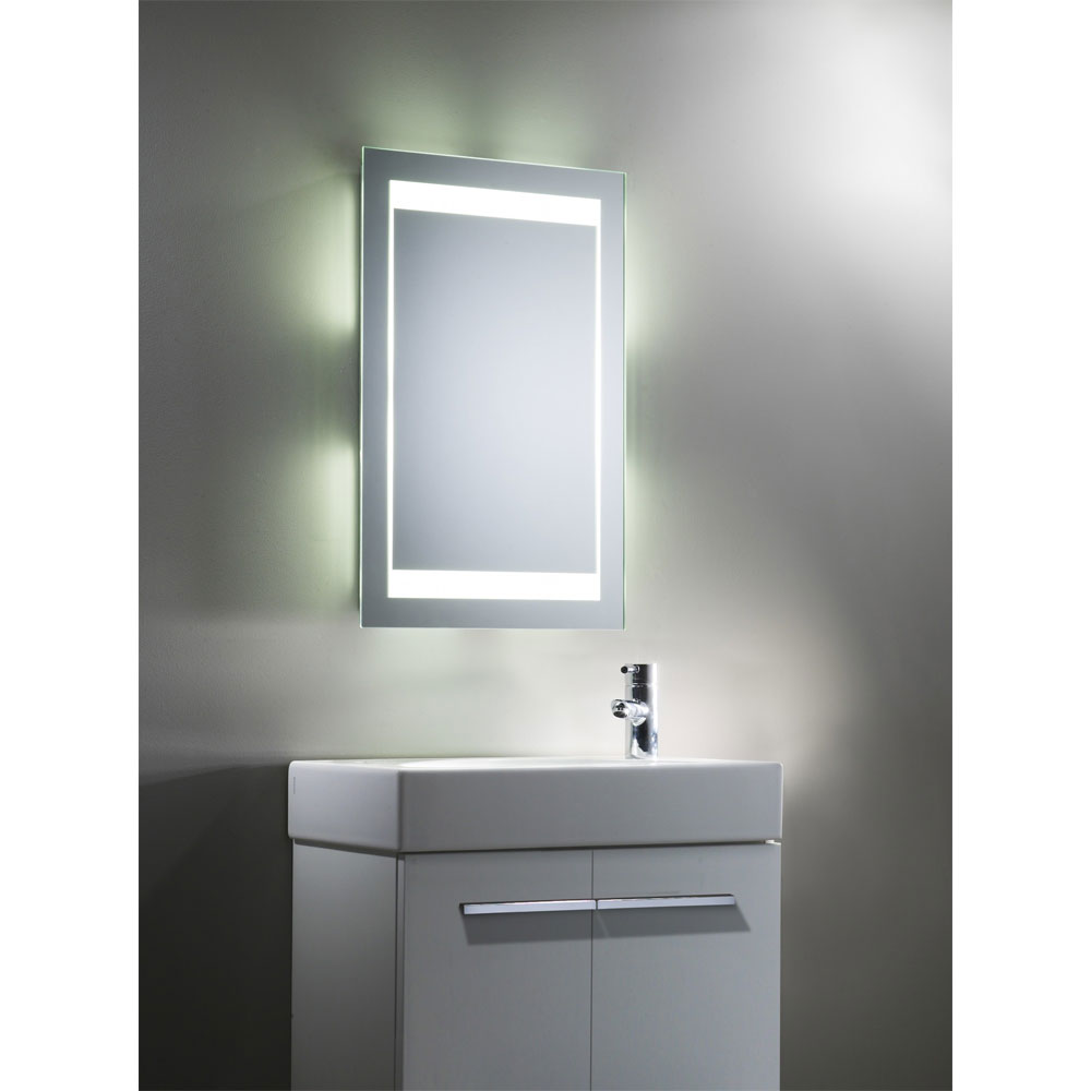 Tavistock Mood Fluorescent Illuminated Mirror profile large image view 4