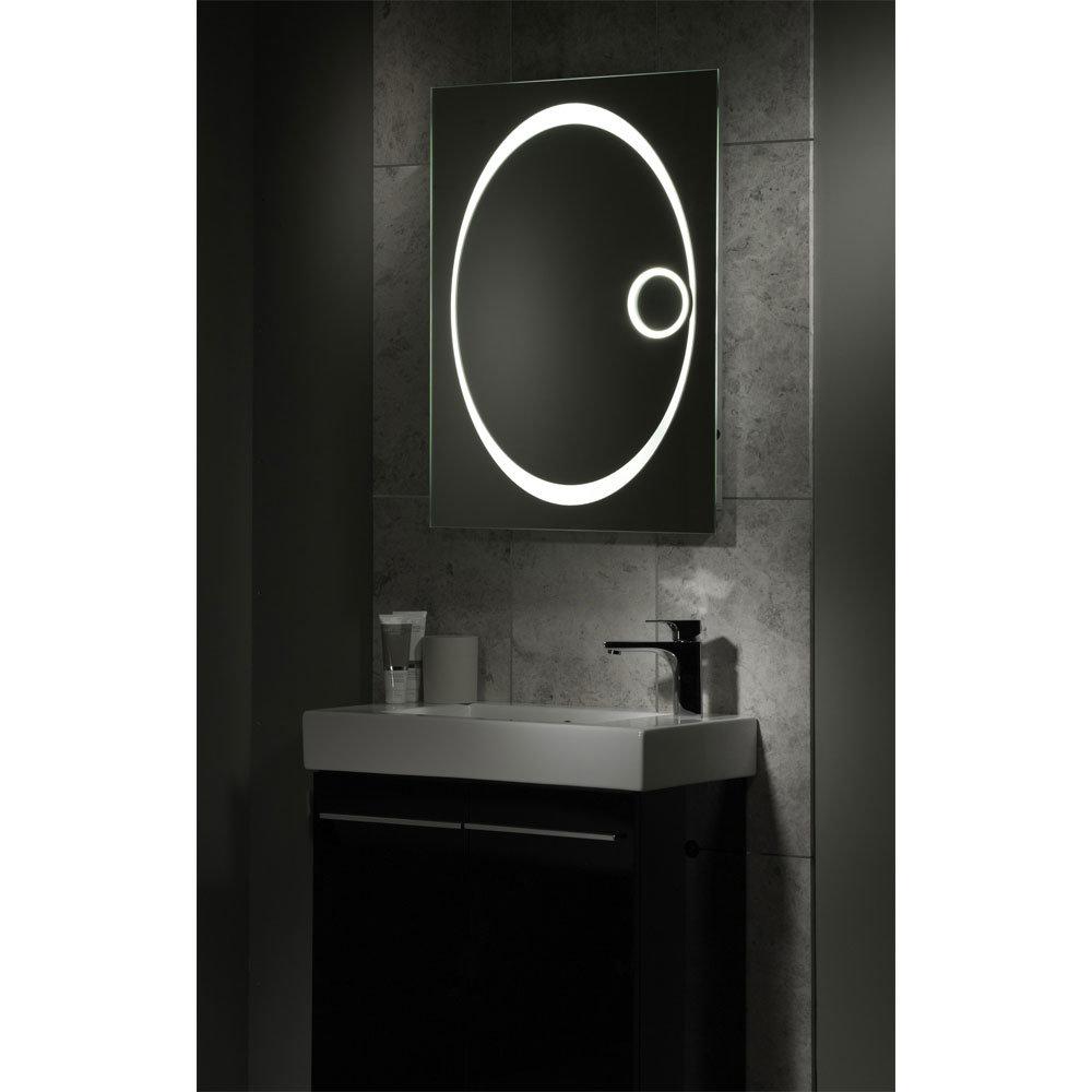 Tavistock Vapour Fluorescent Illuminated Mirror In Bathroom Large Image