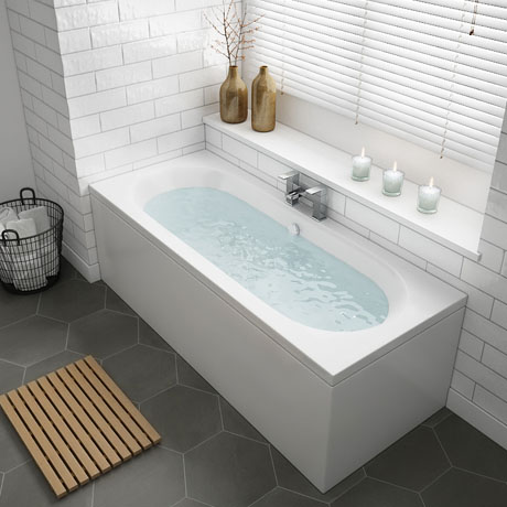 Sutton Double Ended Bath + Panels
