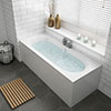 Sutton Double Ended Bath + Panels profile small image view 1