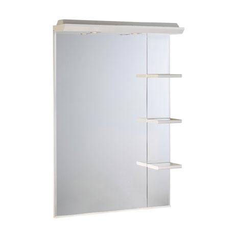 Roper Rhodes Valencia 700mm Mirror with Shelves & Canopy