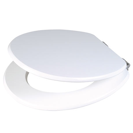 Wirquin Cavalcade Gloss White Toilet Seat