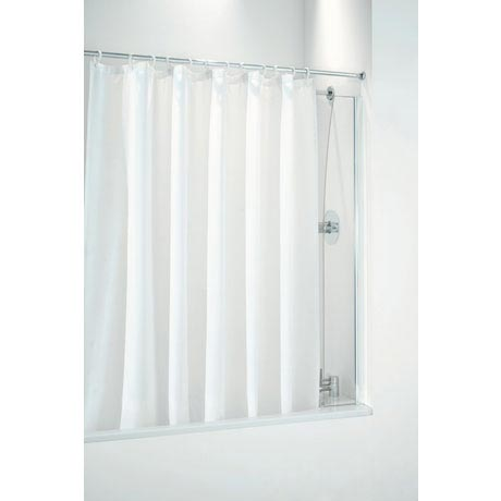Coram - 250mm Shower Curtain Screen - 2 Colour Options