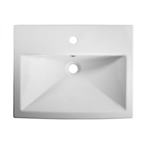 Tavistock Courier 600mm Semi-Countertop Unit & Basin - Montana Gloss profile large image view 2