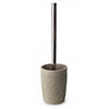 Sculpt Freestanding Toilet Brush & Holder profile small image view 1