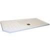 Roman Sculptures 1700mm Walk-In Shower Tray profile small image view 1