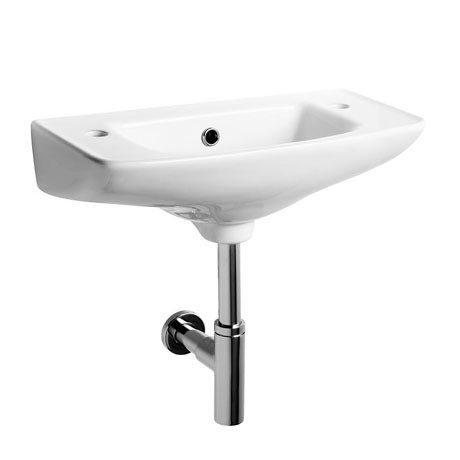 Tavistock Micra 510mm Slimline Ceramic Basin & Bottle Trap