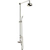 Heritage Dawlish Exposed Shower with Premium Fixed Riser Kit & Diverter to Handset - Vintage Gold - SDCDUAL08 profile small image view 1