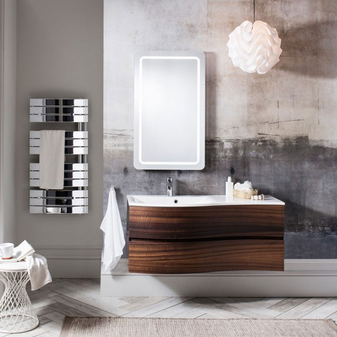 Bauhaus - Svelte Two Drawer Vanity Unit & Basin - Eucalyptus profile large image view 3