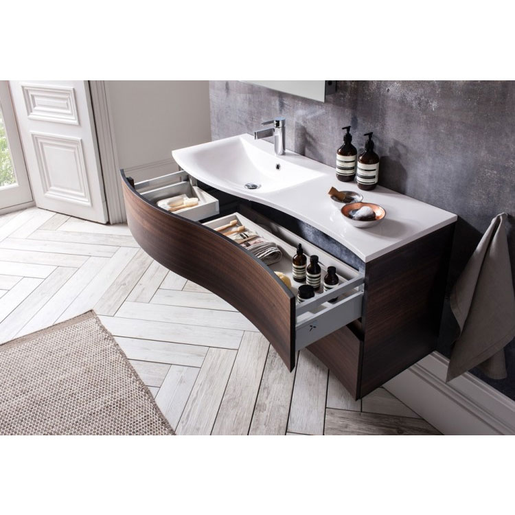 Bauhaus - Svelte Two Drawer Vanity Unit & Basin - Eucalyptus profile large image view 5
