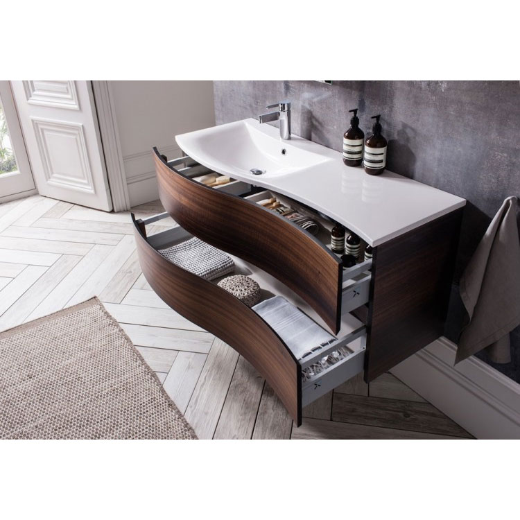 Bauhaus - Svelte Two Drawer Vanity Unit & Basin - Eucalyptus profile large image view 7