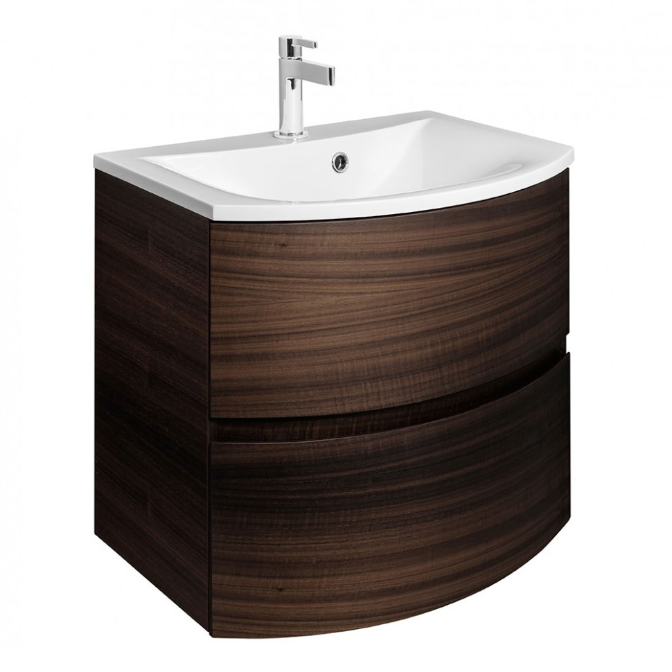Bauhaus - Svelte Two Drawer Vanity Unit & Basin - Eucalyptus profile large image view 1