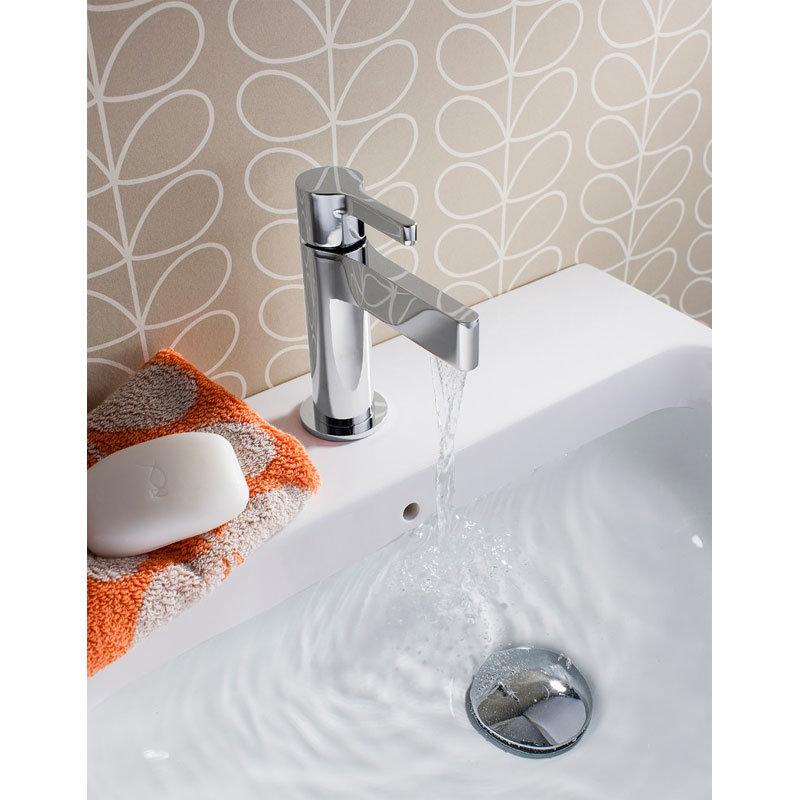 Crosswater - Svelte Mini Monobloc Basin Mixer - SE114DNC Profile Large Image