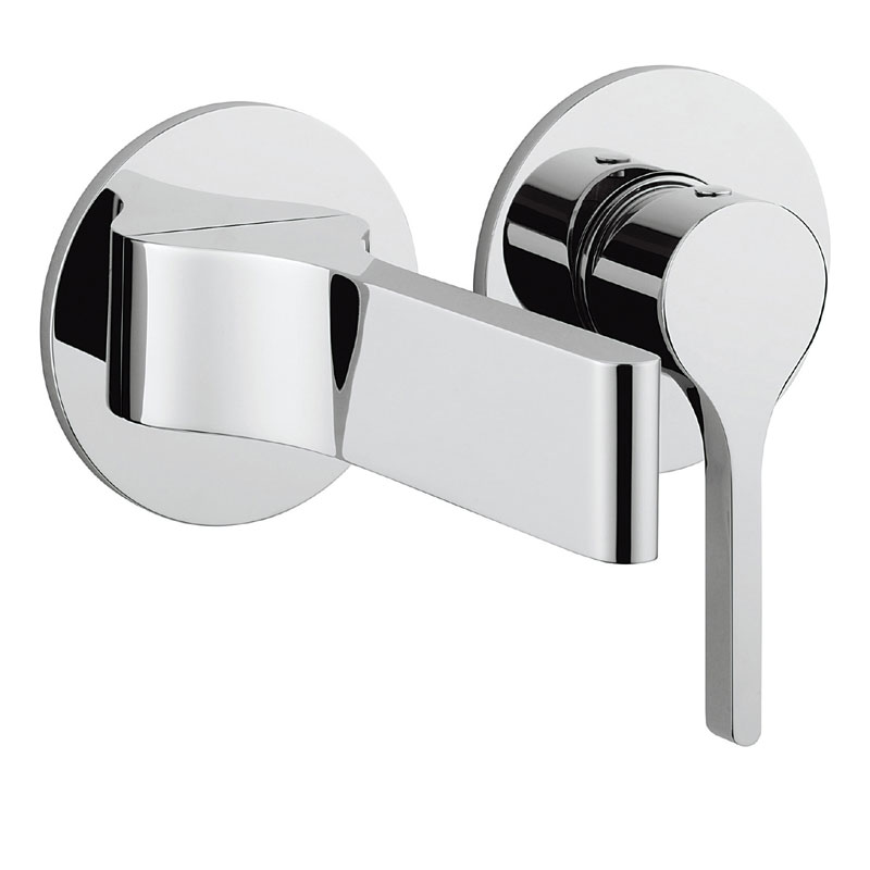 Crosswater - Svelte Wall Mounted 2 Hole Set Basin Mixer - SE120WNC Large Image