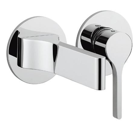 Crosswater - Svelte Wall Mounted 2 Hole Set Basin Mixer - SE120WNC