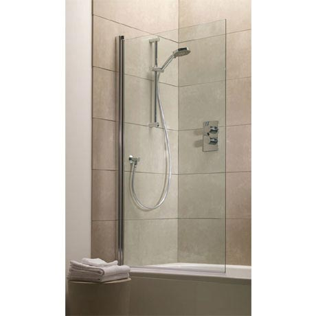 Tavistock Rectangular Bath Screen - 800 x 1500mm